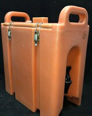 Cambro Orange Insulated Beverage Carrier 250LCD 2.5 Gallon Capacity. Our # 1W