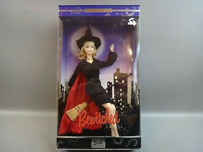 NEW Bewitched 2001 Barbie Doll Collector Edition as Elizabeth Montgomery
