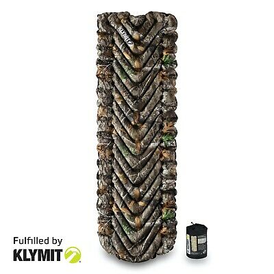 KLYMIT Insulated Static V Sleeping Camping Pad REALTREE CAMO - REFURBISHED