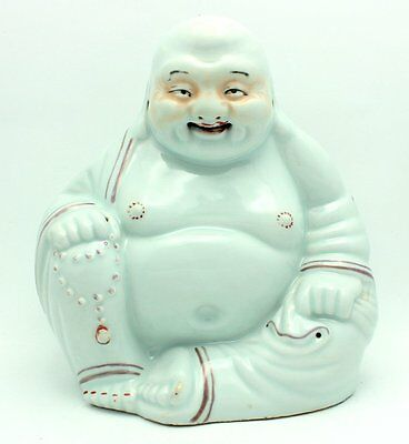 Fine Signed Chinese Republic Period Porcelain Laughing Buddha