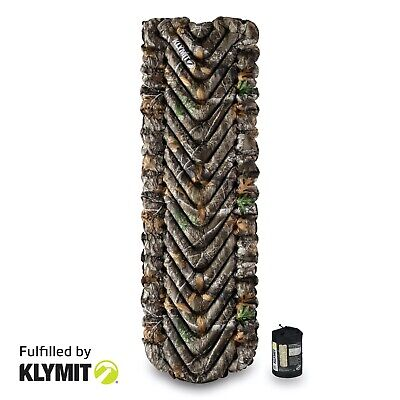 KLYMIT Static V Lightweight Sleeping Camping Pad REALTREE CAMO - REFURBISHED