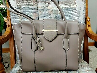 910f1009e84 AUTHENTIC NWT RADLEY London Leather Palace Street Light Beige Tote ...