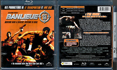 Blu-ray BANLIEUE 13 (DISTRICT) Luc Besson/Pierre Morel French Cdn OOP Reg A NEW