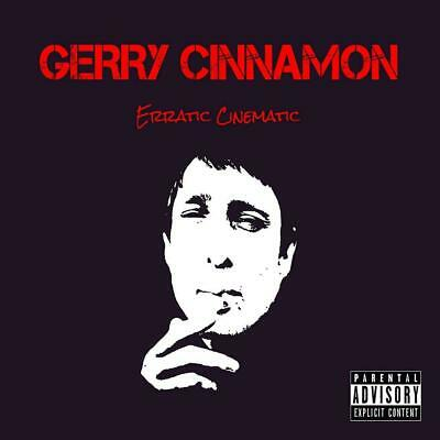 "GERRY CINNAMON Wall Poster ERRATIC CINEMATIC Jerry 10X10"" 20X20"" 30X30"""