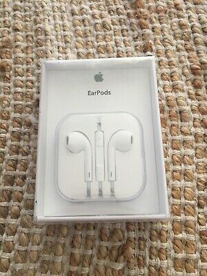 Genuine Apple Earpods Headphones Earphones Iphone 6 6S 5 4S 4 iPad With Mic