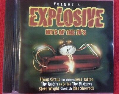 Explosive Hits of the 70's cd Vol 5 Various Artists Compilation 1970s music
