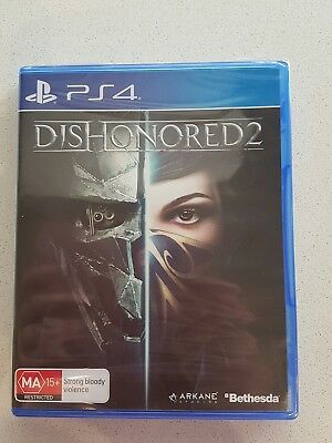 Dishonored 2 Game  PS4  Brand New & Sealed