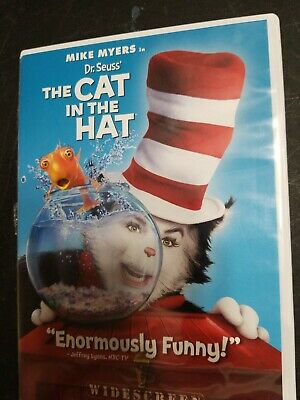 Dr. Seuss The Cat in the Hat (DVD, 2004, Widescreen Edition)