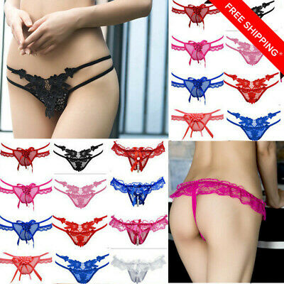 Ladies Sexy Briefs Transparent Knickers Panty Underwear Lingerie Bikini Hot