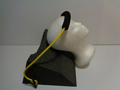 Clean Foam Neck Stretcher Wedge With Resistance Strap FREE QUICK SHIP