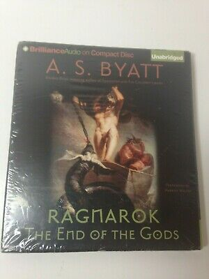 Ragnarok The End Of The Gods Audio Book CD By A S Byatt, Unabridged - New Sealed
