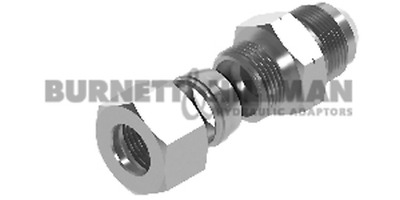 METRIC Male (S Series) x JIC male – COMPLETE – Hydraulic Compression Fitting