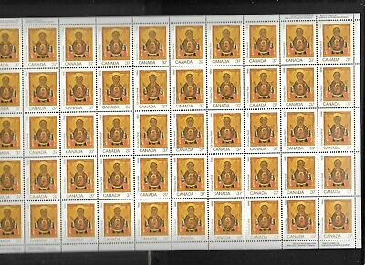 pk44036:Stamps-Canada #1222 Christmas (NI) 50 x 37 cent Sheet-MNH