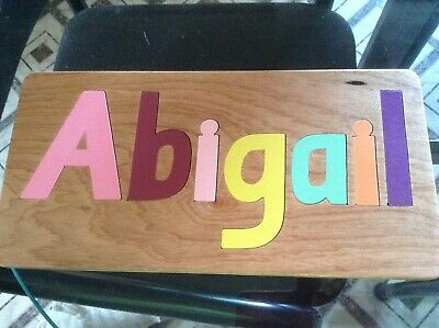 Personalised Name Puzzles 7 Piece