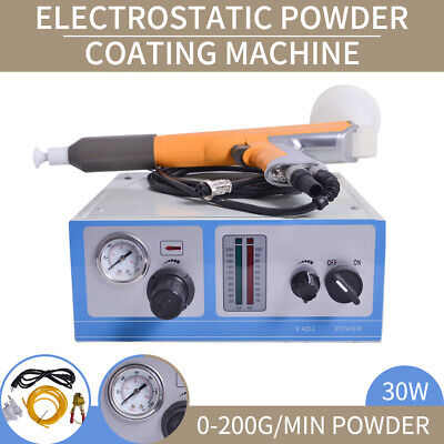 Portable Lab Electrostatic Powder Coat Paint System Coating Machine 110V