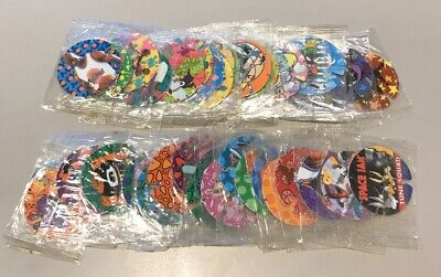 Spacejam Tazos Sealed Techno Set From 1996 21-60 Full Set In Packets
