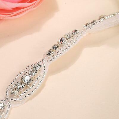 Children Baby Infant Princess Flower Girl Rhinestone Hair Band Headband U8HE 06