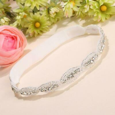 Children Baby Infant Princess Flower Girl Rhinestone Hair Band Headband U8HE 10