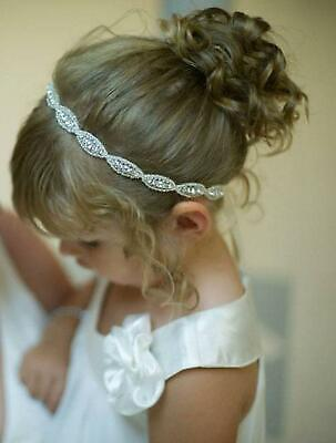 Children Baby Infant Princess Flower Girl Rhinestone Hair Band Headband U8HE 08