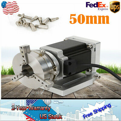 ROTARY AXIS 50mm with MD542A Driver, 60*88 Moto For Laser Marking Machine NEW