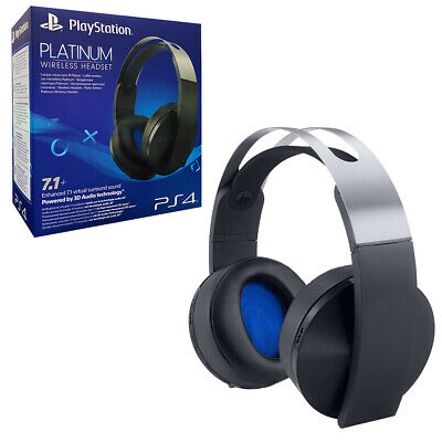 Sony Platinum Wireless Headset for PS4 NEW