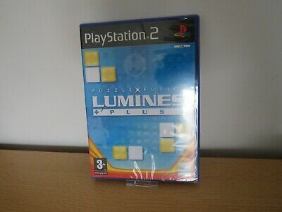 Lumines Plus - PS2 Playstation Game - New Factory Sealed pal
