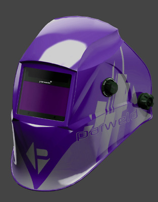 Parweld XR938H purple shell large view 5-13 shade auto welding & grinding helmet