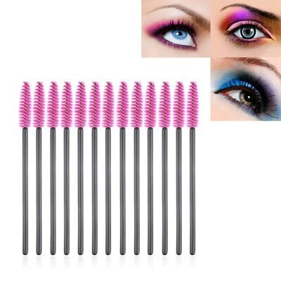 50/100x Disposable Eyelash Brush Mascara Wands Extension Applicator Spoolers Om