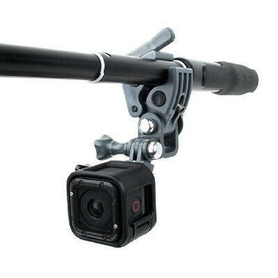 Black Universal Clamp Clip Mount Gun / Fishing Rod /Bow Fixing For GoPro Cameras
