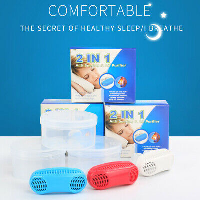 Anti Stop Snoring Aids Snore Free Magnetic Silicone Snore Stopper Sleep Devic SU