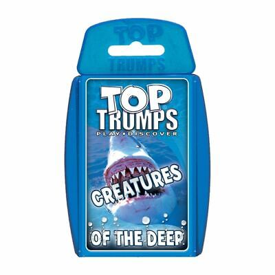 Top Trumps Educational Fun Card Game - CREATURES OF THE DEEP
