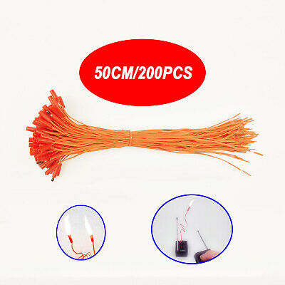 200 pcs 19.68in Igniter Wire for Fireworks Firing System