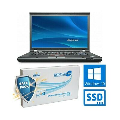 "COMPUTER NOTEBOOK LENOVO THINKPAD T520 i7 2620M 15,6"" WIN 10 RAM 8GB SSD 360GB-"