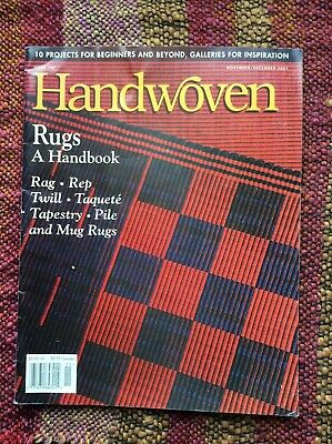 Handwoven Magazine Nov/ Dec 2001