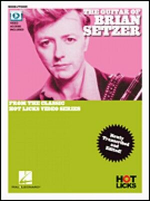 The Guitar of Brian Setzer From the Classic Hot Licks Video Series New 000269775