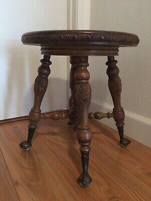 Terrific Antique Charles Parker Claw Ball Feet Adjustable Wood Ibusinesslaw Wood Chair Design Ideas Ibusinesslaworg