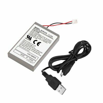 2000mAh Rechargeable Battery Pack for Sony Playstation PS4 Controller Cable WE