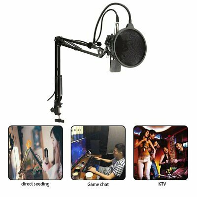 NW-700 Professional Studio Broadcasting Recording Condenser Microphone Kit UI