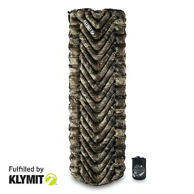 KLYMIT Insulated Static V Kings Camo Sleeping Camping Pad- CERTIFIED REFURBISHED