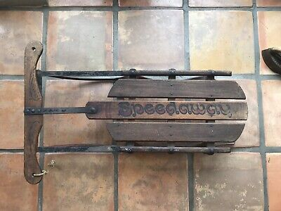Antique Collectable Paris Mfg Co Speedaway Sled