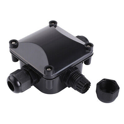 3-way Outdoor Underground Cable Connector Connector Junction Box IP66 Waterproof