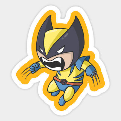 # 1014 Wolverine X Men Decal Sticker for Car Window Laptop and More