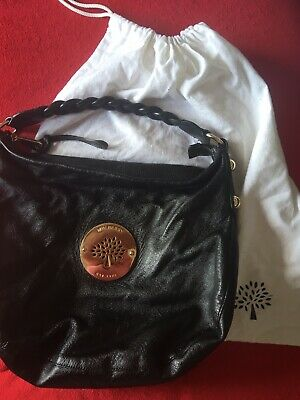828137c824 Genuine Mulberry Daria Hobo Soft Leather Black Bag excellent condition