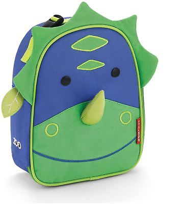 Skip Hop ZOO LUNCHIE INSULATED LUNCH BAG - DINOSAUR Kids Lunch Bags BNIP