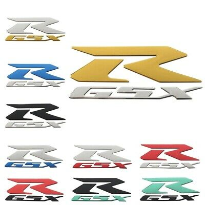 Universal Motorcycle Decal Stickers 3D Emblem Fairing Suzuki GSXR 600 750 1000