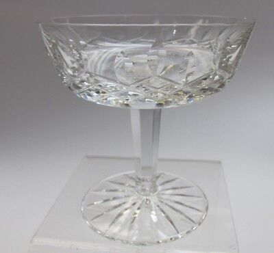 Waterford crystal Lismore champagne / dessert glass Signed