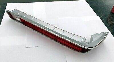 1970-72 Gto / Lemans Tail Lamp Light Lens With Stainless Rh Right