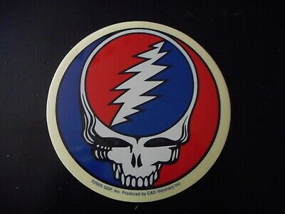 """Grateful Dead - Steal Your Face  - Decal Sticker 5"""" x 5"""""""