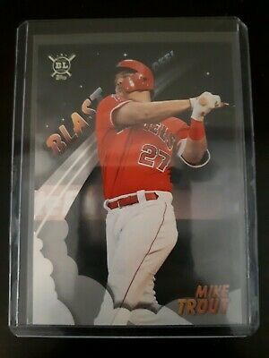 Mike Trout 2019 Topps Big League Blast Off #1 Angels
