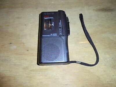 Sony M-529V MicroCassette Recorder - Tested & Working!